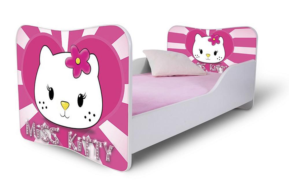 Detská posteľ 140x70 cm - Lena - 55 . Akcia -36%. Vlastná spoľahlivá doprava až k Vám domov.