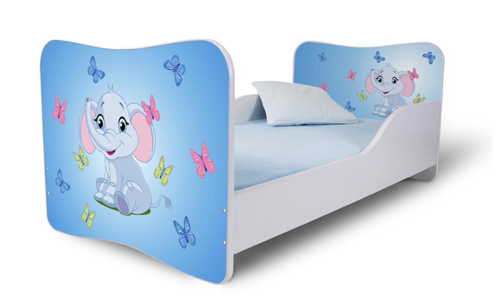 Detská posteľ 140x70 cm - Lena - 08 . Akcia -36%. Vlastná spoľahlivá doprava až k Vám domov.