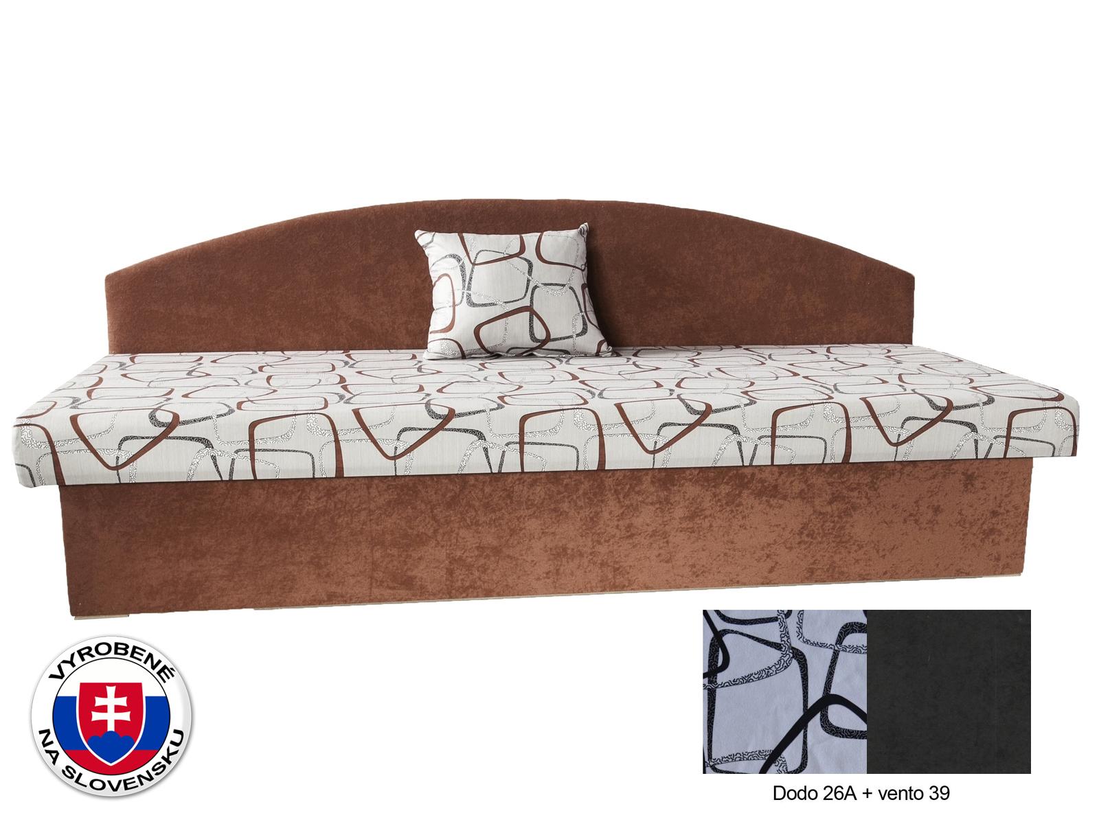 Jednolôžková váľanda 82 cm - Mitru - Vaľo 3 (s matracom) *výpredaj