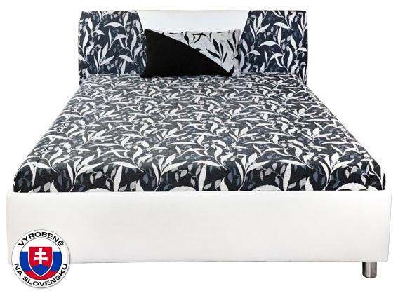 Manželská posteľ 160 cm - Mitru - Broňa (s molitanovým matracom). Sme autorizovaný predajca Mitru. Vlastná spoľahlivá doprava až k Vám domov.