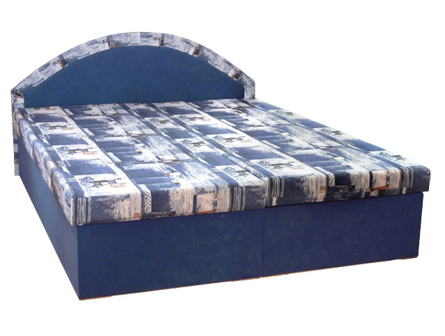 Manželská posteľ 160 cm - Mitru - Edo 7 (s molitanovým matracom)