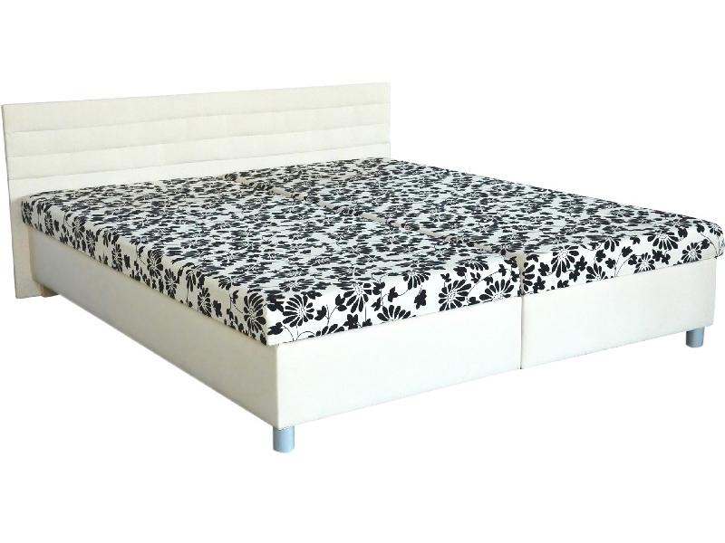 Manželská posteľ 160 cm - Mitru - Etile (s molitanovým matracom). Sme autorizovaný predajca Mitru. Vlastná spoľahlivá doprava až k Vám domov.