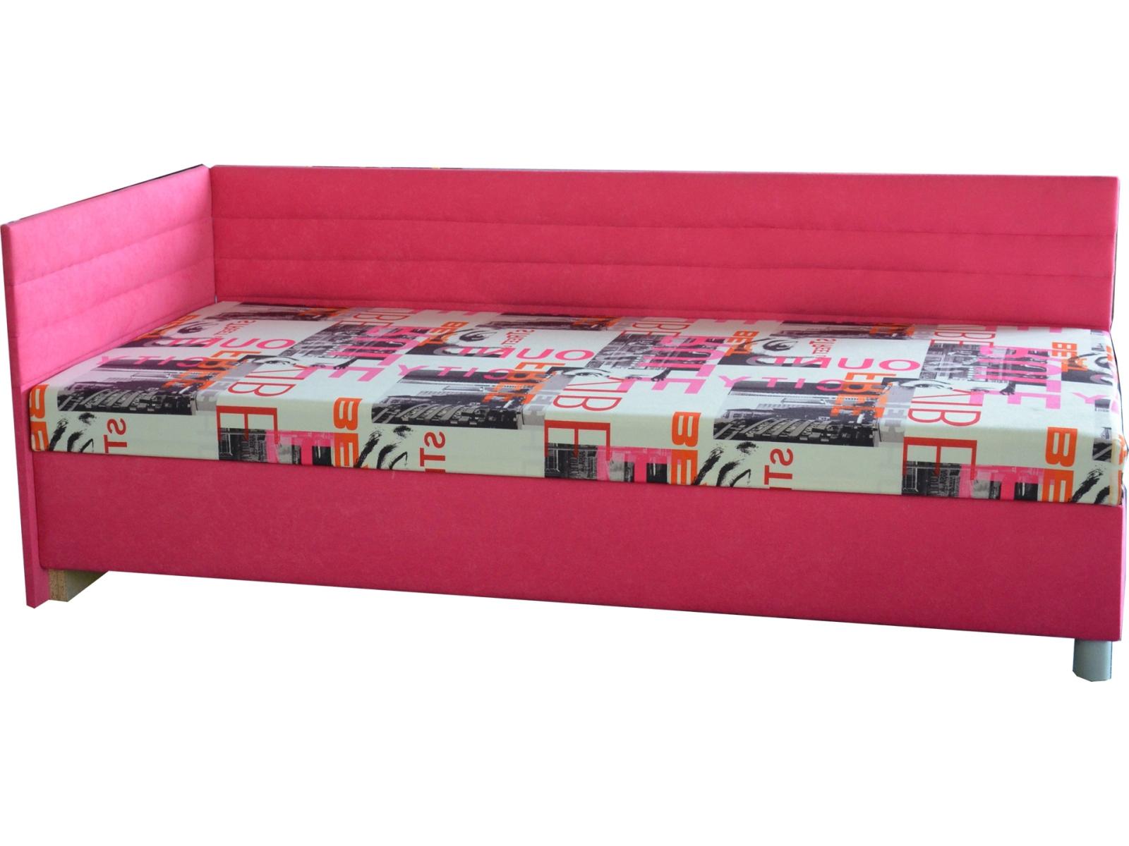 Jednolôžková posteľ (váľanda) 90 cm - Mitru - Etile 2 (s molitanovým matracom) (L). Sme autorizovaný predajca Mitru. Vlastná spoľahlivá doprava až k Vám domov.