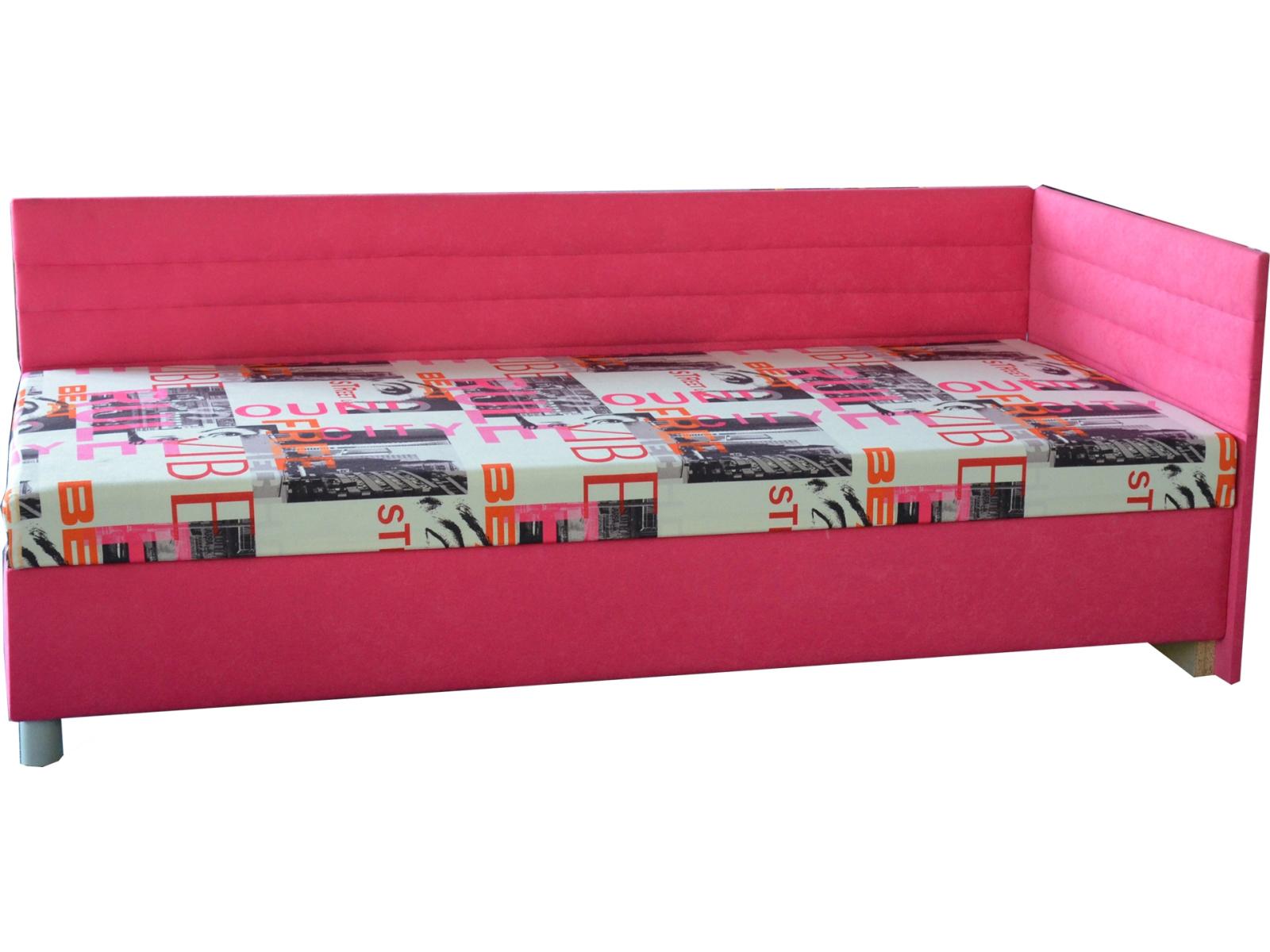Jednolôžková posteľ (váľanda) 90 cm - Mitru - Etile 2 (s molitanovým matracom) (P). Sme autorizovaný predajca Mitru. Vlastná spoľahlivá doprava až k Vám domov.