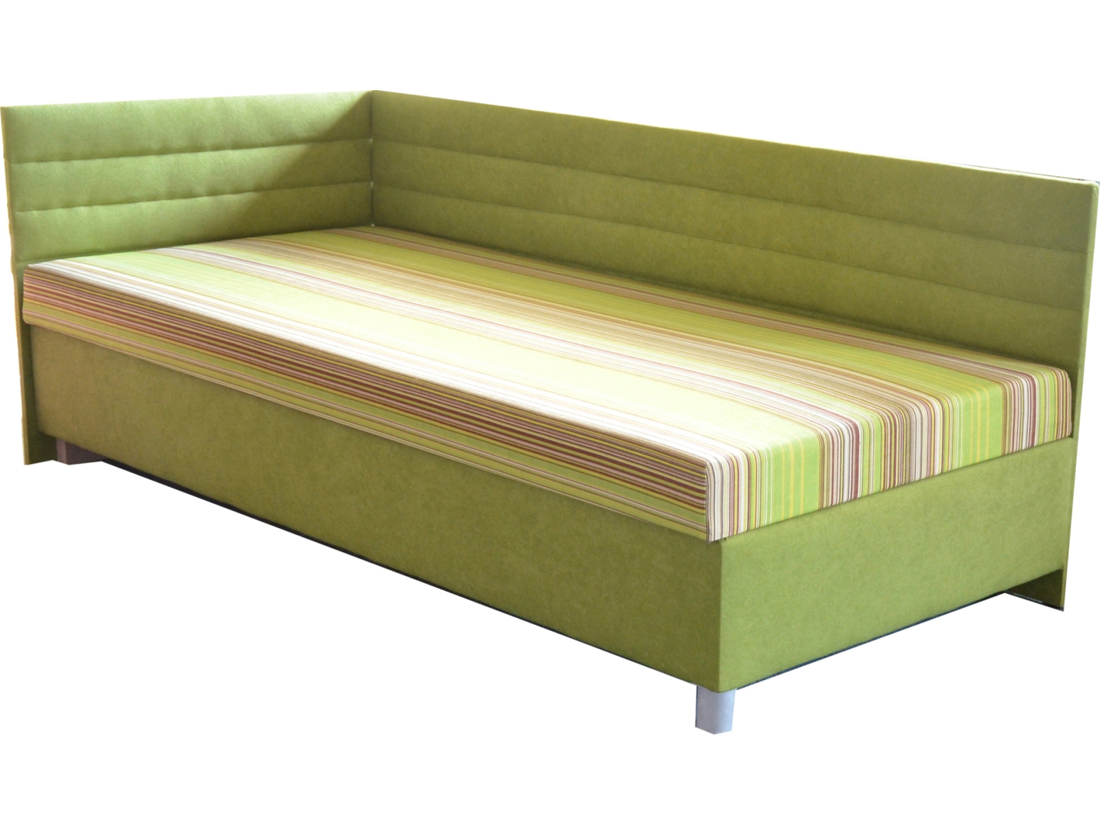 Jednolôžková posteľ (váľanda) 110 cm - Mitru - Etile 2 (so 7-zónovým matracom štandard) (L). Sme autorizovaný predajca Mitru. Vlastná spoľahlivá doprava až k Vám domov.