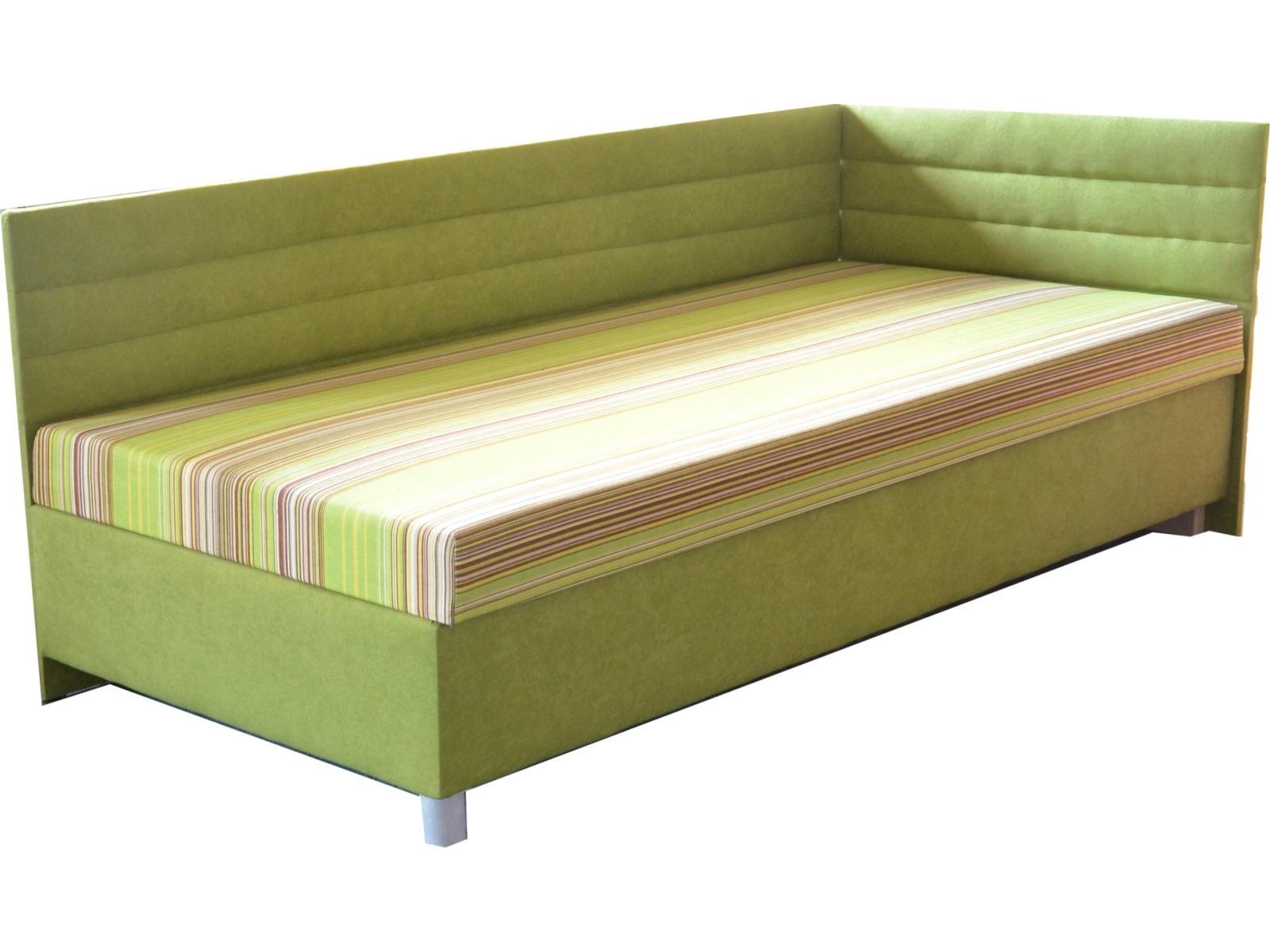 Jednolôžková posteľ (váľanda) 100 cm - Mitru - Etile 2 (so sendvičovým matracom) (P). Sme autorizovaný predajca Mitru. Vlastná spoľahlivá doprava až k Vám domov.