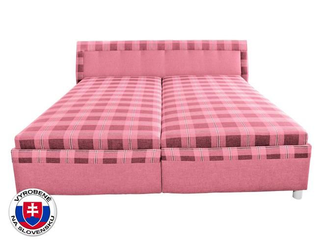 Manželská posteľ 180 cm - Mitru - Klaudia (so sendvičovým matracom)