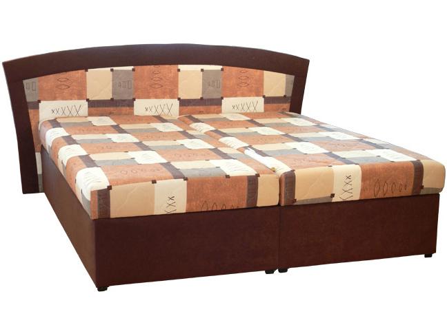 Manželská posteľ 180 cm - Mitru - Roma 1 (s molitanovým matracom)