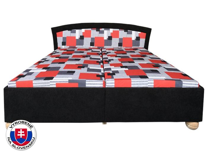 Manželská posteľ 180 cm - Mitru - Roma Lux (s molitanovým matracom)