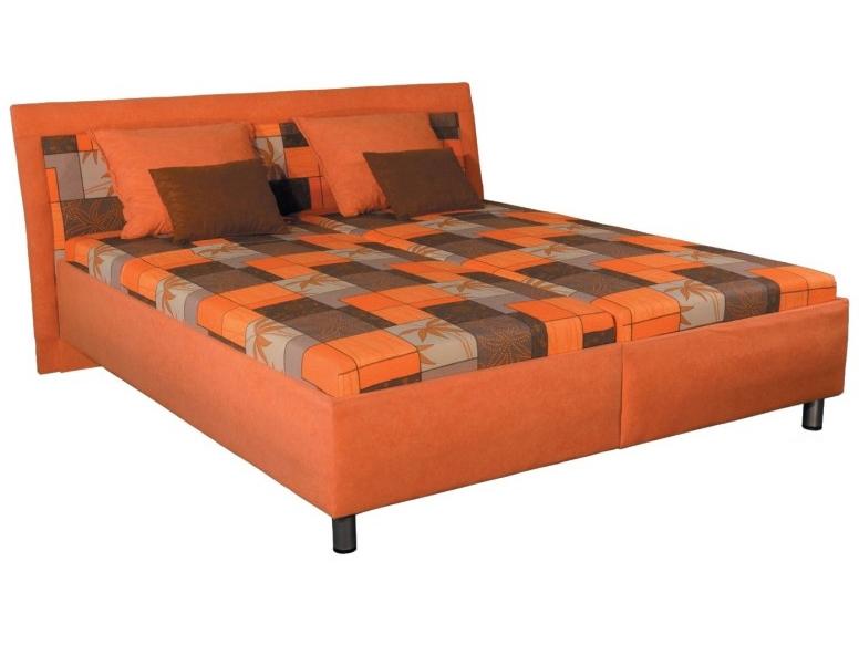 Manželská posteľ 180 cm - Mitru - Zoja (so sendvičovým matracom)