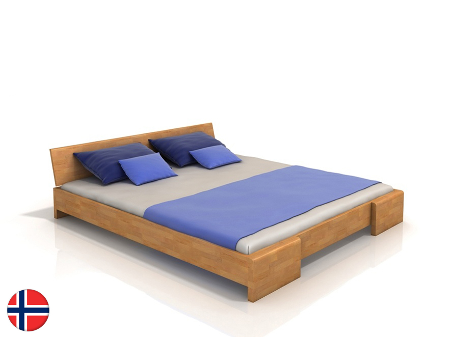 Manželská posteľ 160 cm - Naturlig - Blomst (buk) (s roštom). Doprava ZDARMA. Sme autorizovaný predajca Naturlig. Vlastná spoľahlivá doprava až k Vám domov.