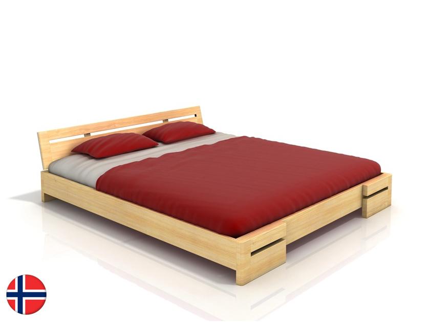 Manželská posteľ 160 cm - Naturlig - Bokeskogen (borovica) (s roštom). Sme autorizovaný predajca Naturlig. Vlastná spoľahlivá doprava až k Vám domov.