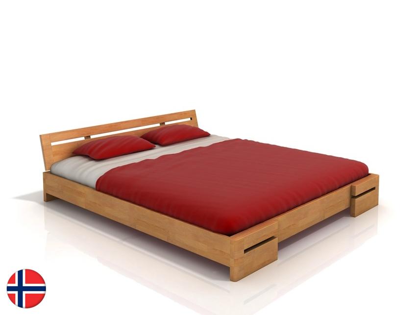Manželská posteľ 160 cm - Naturlig - Bokeskogen (buk) (s roštom). Doprava ZDARMA. Sme autorizovaný predajca Naturlig. Vlastná spoľahlivá doprava až k Vám domov.