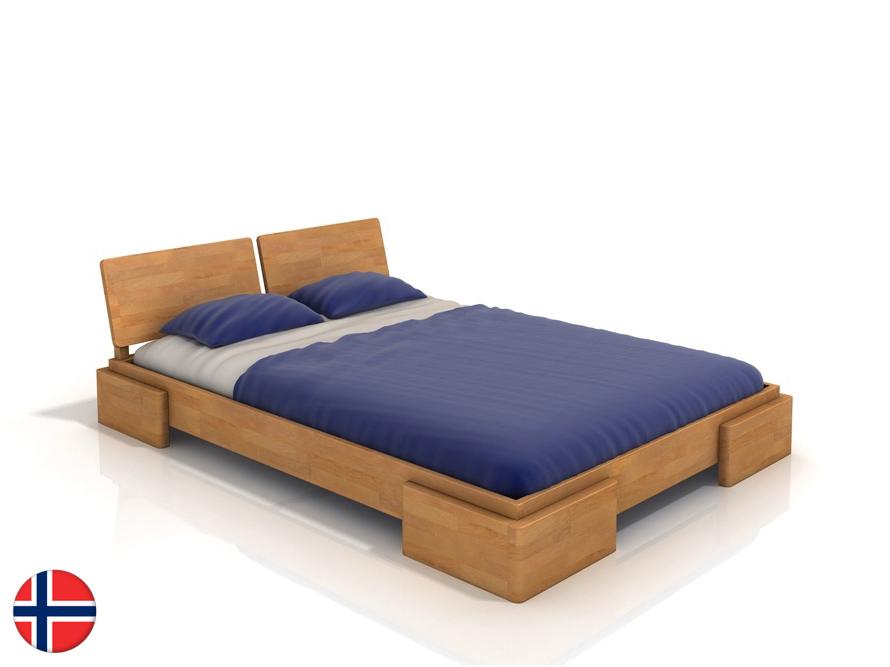 Manželská posteľ 160 cm - Naturlig - Jordbaer (buk) (s roštom). Doprava ZDARMA. Sme autorizovaný predajca Naturlig. Vlastná spoľahlivá doprava až k Vám domov.