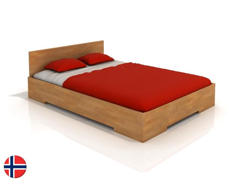 Manželská posteľ 160 cm - Naturlig - Kirsebaer High (buk) (s roštom). Doprava ZDARMA. Sme autorizovaný predajca Naturlig. Vlastná spoľahlivá doprava až k Vám domov.