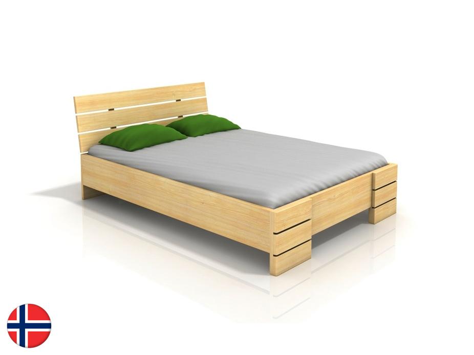 Manželská posteľ 160 cm - Naturlig - Lorenskog High BC (borovica) (s roštom). Doprava ZDARMA. Sme autorizovaný predajca Naturlig. Vlastná spoľahlivá doprava až k Vám domov.