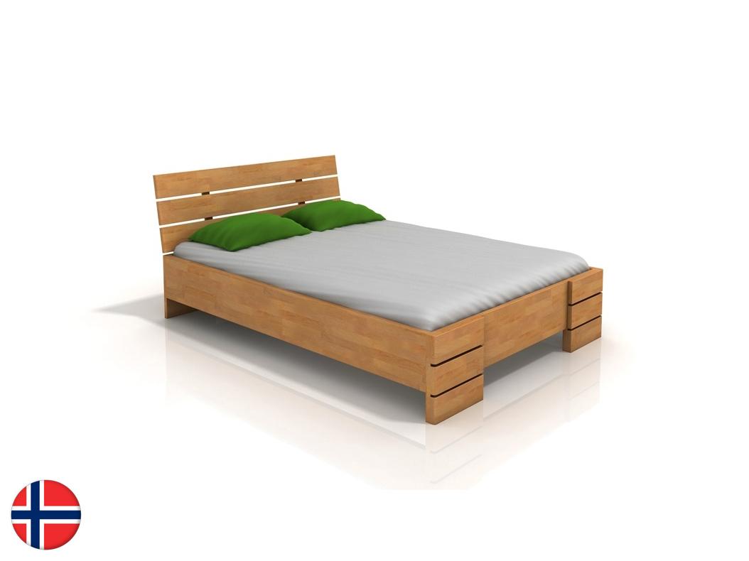 Manželská posteľ 160 cm - Naturlig - Lorenskog High BC (buk) (s roštom). Doprava ZDARMA. Sme autorizovaný predajca Naturlig. Vlastná spoľahlivá doprava až k Vám domov.