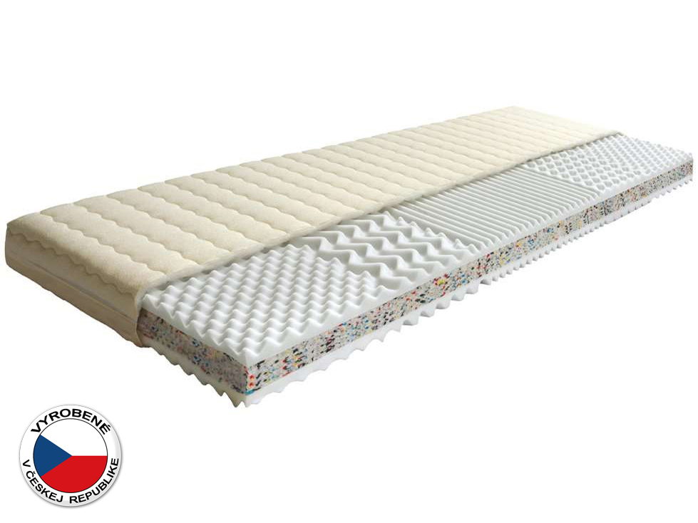Penový matrac - Purtex - Triflex Plus - 200x140 cm (T3)