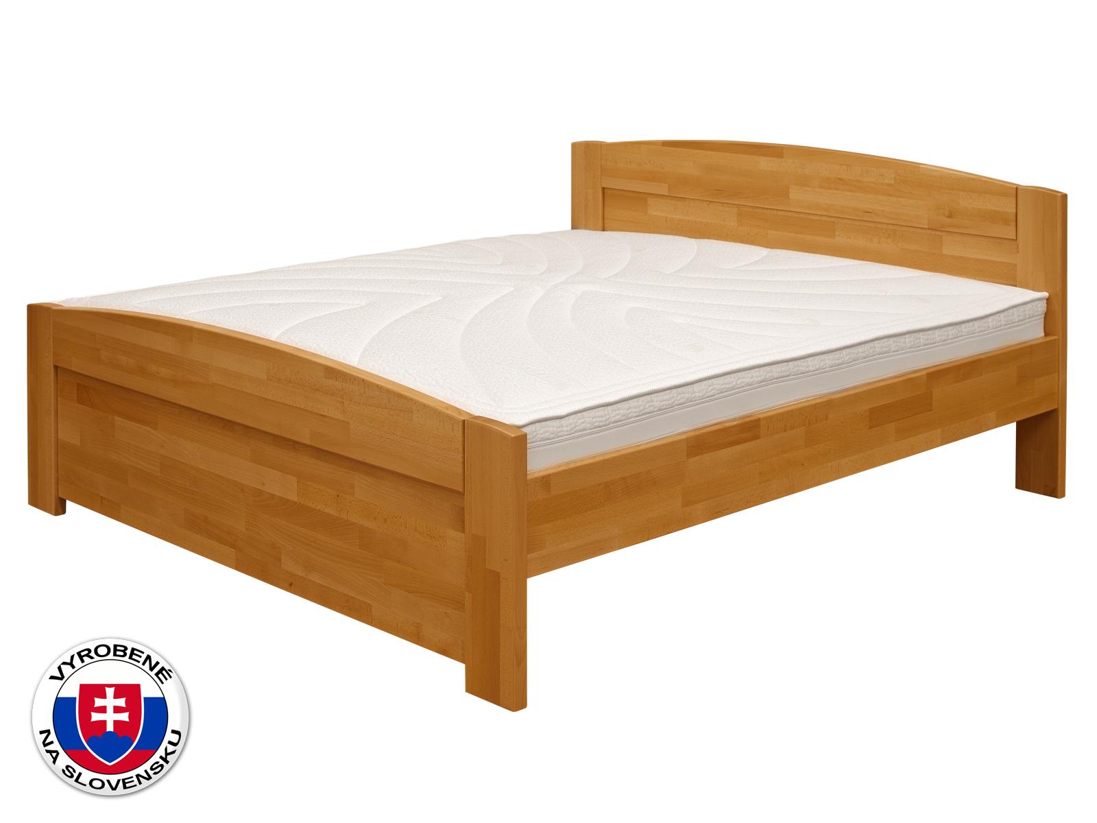 Manželská posteľ 220x200 cm - Purtex - Lada (masív)