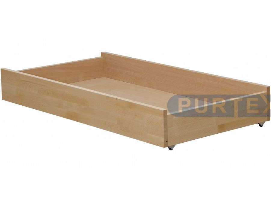 Úložný priestor pod posteľ (zásuvka) - Purtex - 155x80 (masív)
