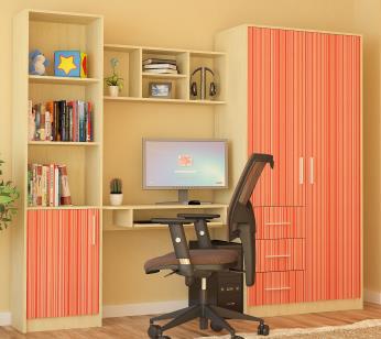 Detská izba - Renar - Simba rainbow oranžová
