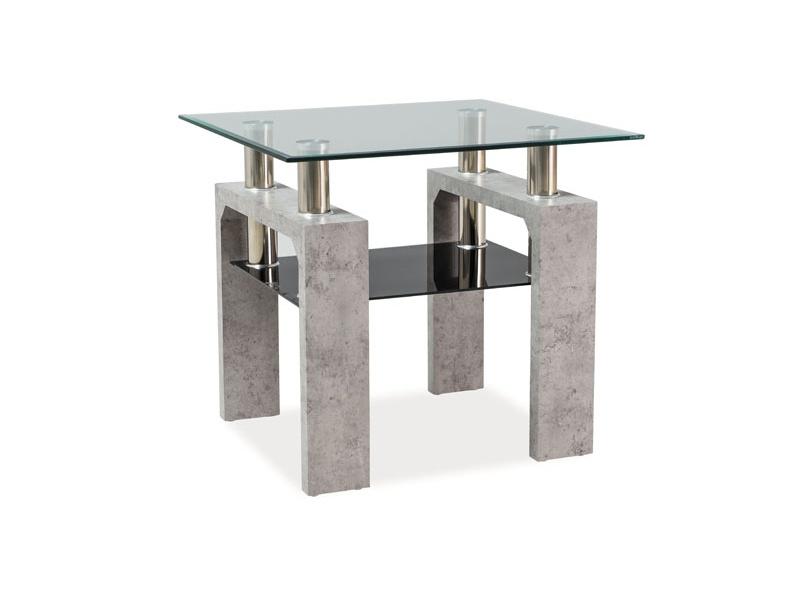 Konferenčný stolík Lisa D (sivá)