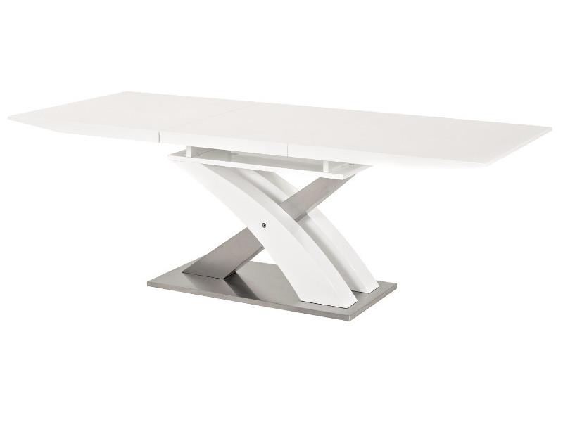 Jedálenský stôl - Signal - Raul (lesk vysoký biely) (pre 6 osôb až 8 osôb). Doprava ZDARMA. Sme autorizovaný predajca Signal. Vlastná spoľahlivá doprava až k Vám domov.