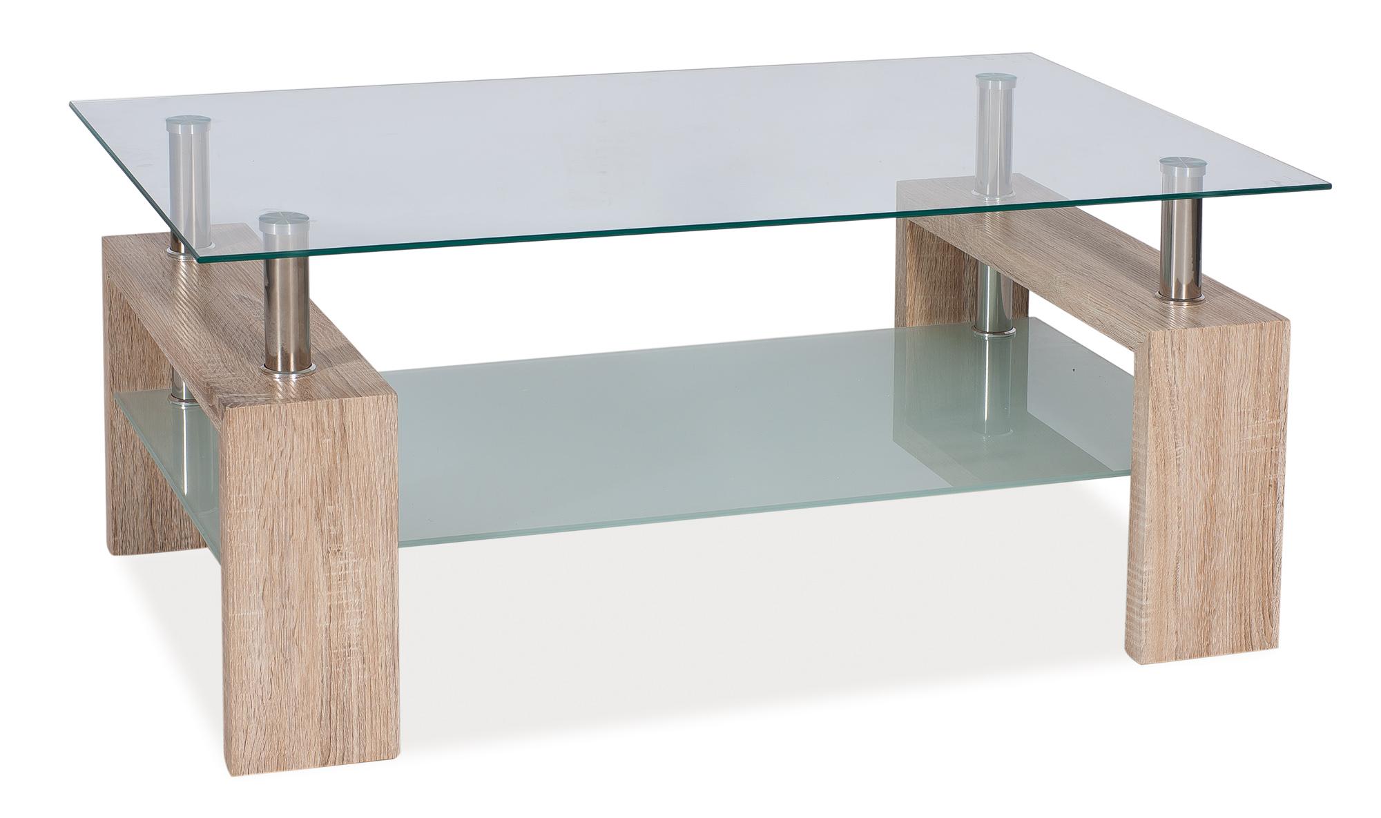 Konferenčný stolík Lisa II (dub sonoma)