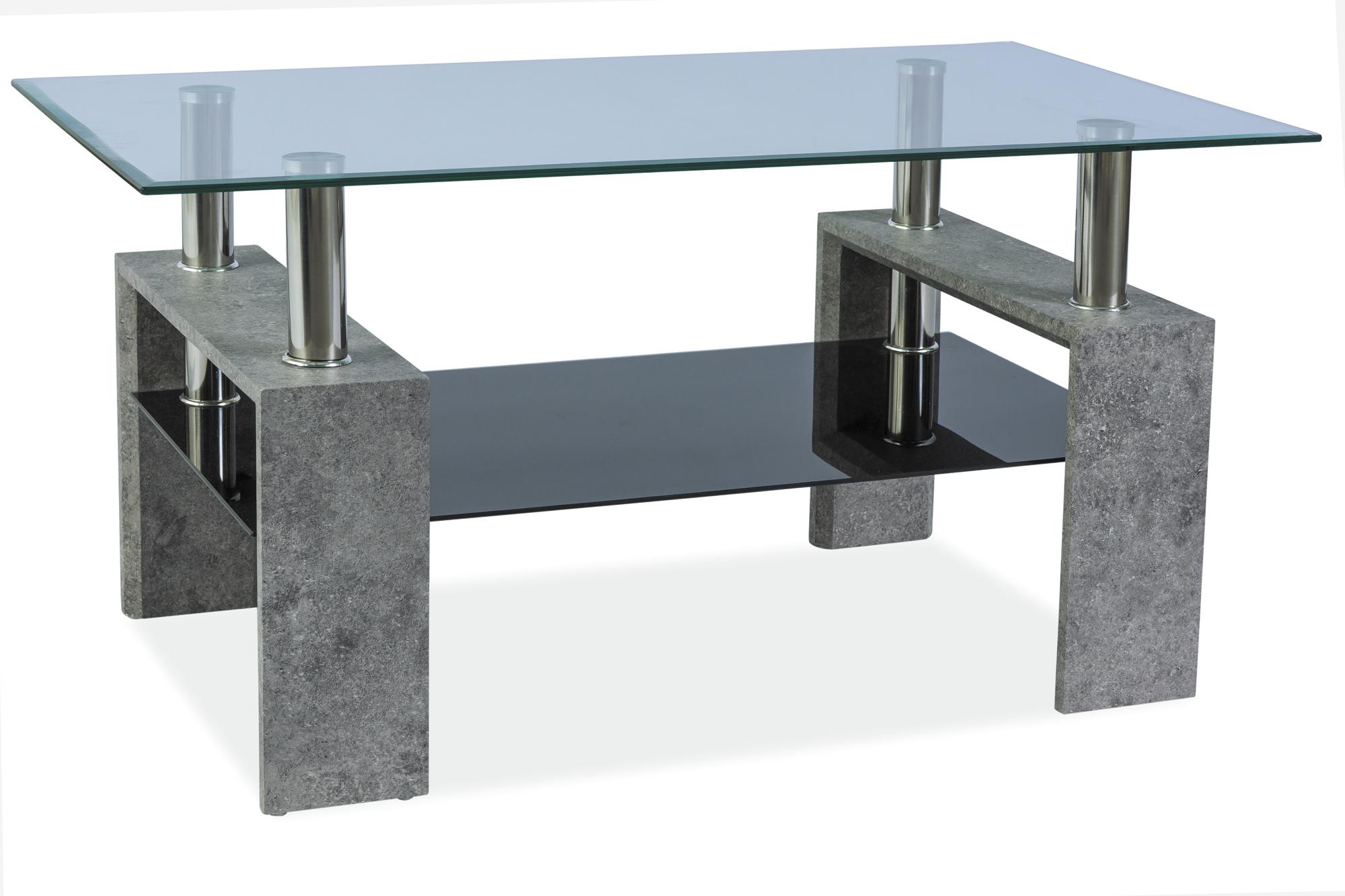 Konferenčný stolík Lisa II (sivý kameň)