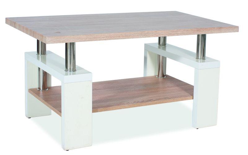 Konferenčný stolík - Signal - Lisa Bis MDF drevo