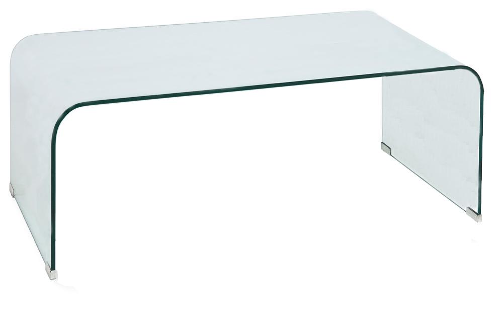 Konferenčný stolík - Signal - Priam A biely