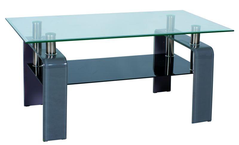 Konferenčný stolík - Signal - Stella šedý. Doprava ZDARMA. Sme autorizovaný predajca Signal. Vlastná spoľahlivá doprava až k Vám domov.