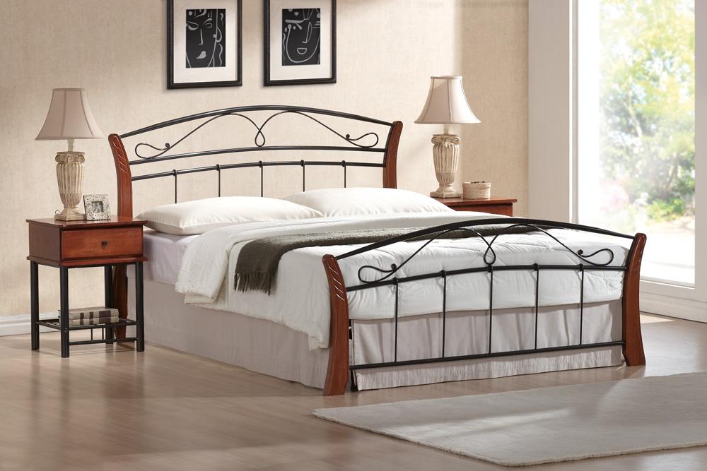 Manželská posteľ 160 cm - Signal - Atlanta A (s roštom). Doprava ZDARMA. Sme autorizovaný predajca Signal. Vlastná spoľahlivá doprava až k Vám domov.