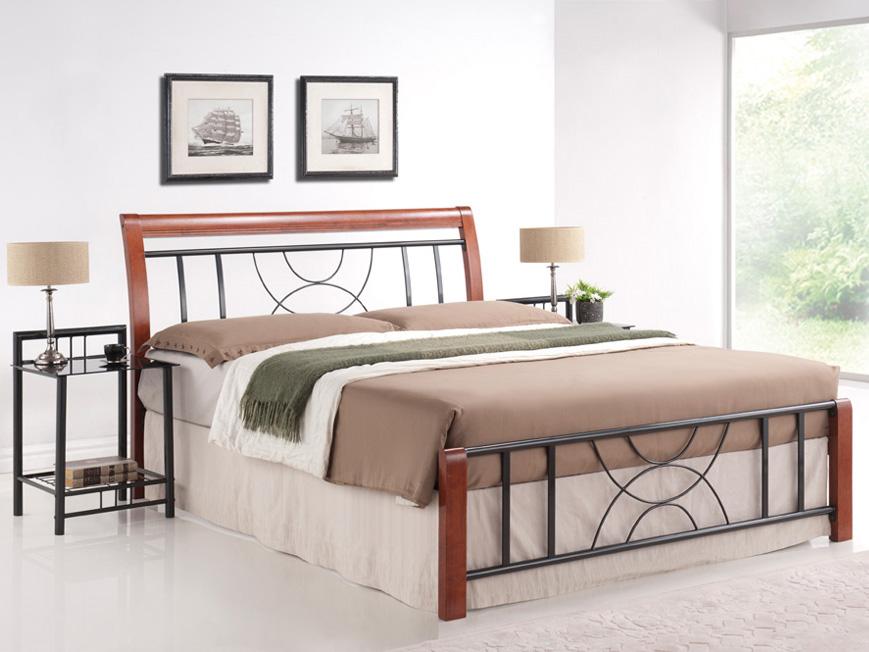 Manželská posteľ 180 cm - Signal - Cortina B (s roštom). Sme autorizovaný predajca Signal. Vlastná spoľahlivá doprava až k Vám domov.