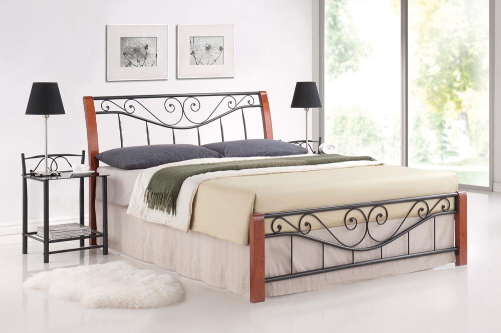 Manželská posteľ 160 cm - Signal - Parma A (s roštom). Sme autorizovaný predajca Signal. Vlastná spoľahlivá doprava až k Vám domov.