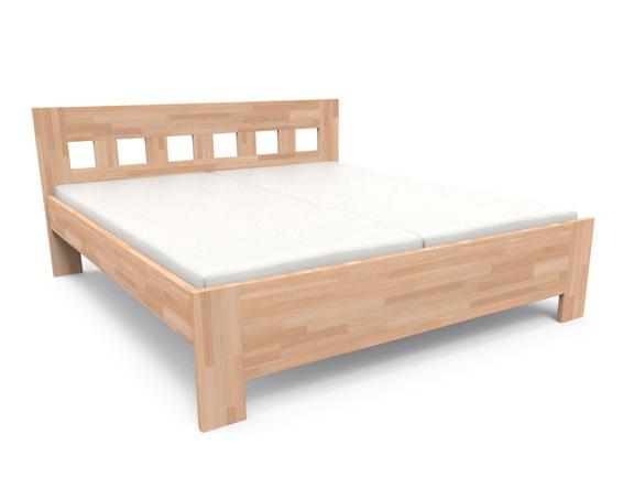 Manželská posteľ 140 cm - Styler - Jana Senior. Sme autorizovaný predajca Styler. Vlastná spoľahlivá doprava až k Vám domov.