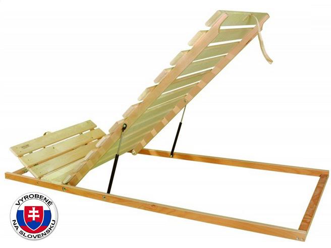 Latkový rošt - 195x80 cm - Styler - Masív H Výklop nohy - Piesty