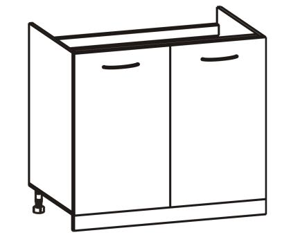 Dolná kuchynská skrinka - Tempo Kondela - Cyra New - DZ-80. Sme autorizovaný predajca Tempo-Kondela. Vlastná spoľahlivá doprava až k Vám domov.