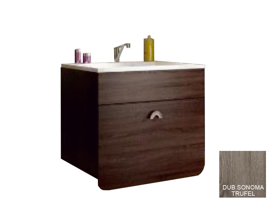 Kúpeľňová skrinka pod umývadlo - Tempo Kondela - Dominika 35RO/TR13