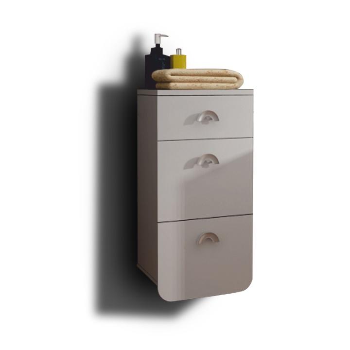 Kúpeľňová skrinka na stenu - Tempo Kondela - Dominika  - 35RO TR12