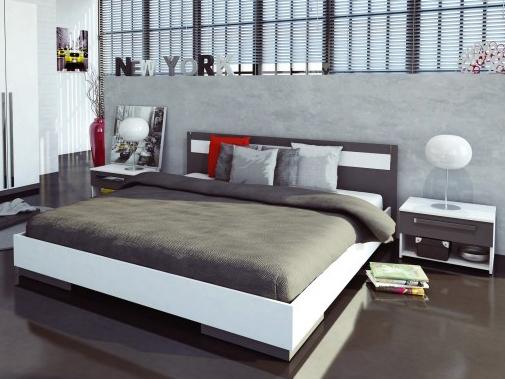 Manželská posteľ 160 cm - Tempo Kondela - Defy
