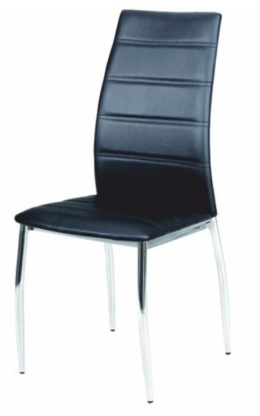 Jedálenská stolička - Tempo Kondela - Dela čierna. Akcia -10%. Sme autorizovaný predajca Tempo-Kondela. Vlastná spoľahlivá doprava až k Vám domov.
