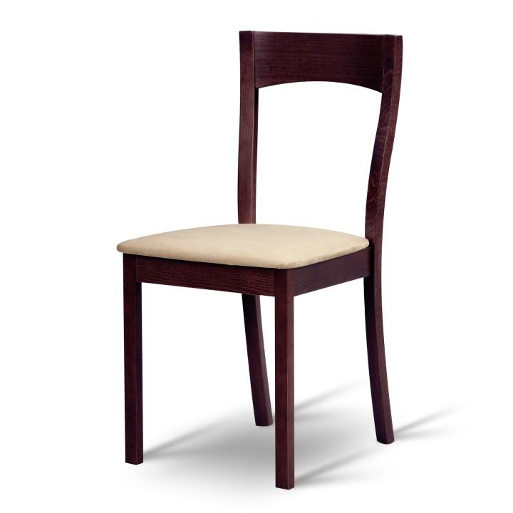 Jedálenská stolička - Tempo Kondela - Delma wenge + béžová