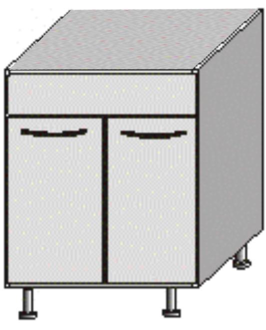 Dolná kuchynská skrinka - Tempo Kondela - Jura New - DZ-80. Sme autorizovaný predajca Tempo-Kondela. Vlastná spoľahlivá doprava až k Vám domov.