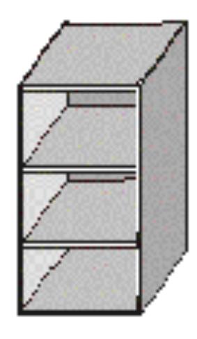 Horná kuchynská skrinka - Tempo Kondela - Jura New - GO-30. Sme autorizovaný predajca Tempo-Kondela. Vlastná spoľahlivá doprava až k Vám domov.