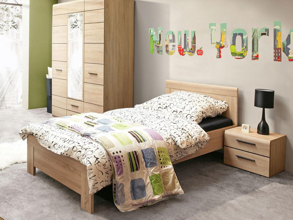 Jednolôžková posteľ 90 cm - Tempo Kondela - Kombino - CMBL09