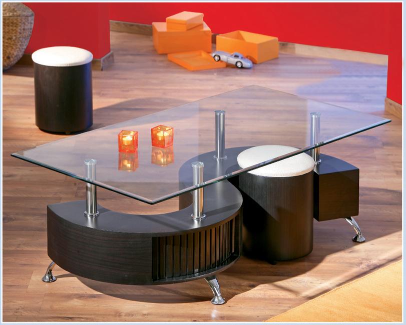 Konferenčný stolík - Tempo Kondela - Otelo (s taburetkami)