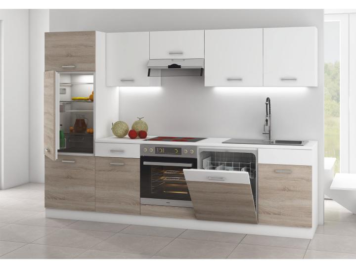 Kuchyňa - Tempo Kondela - Lampur 280 cm. Sme autorizovaný predajca Tempo-Kondela. Vlastná spoľahlivá doprava až k Vám domov.