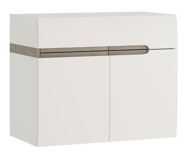 Kúpeľňová skrinka pod umývadlo - Tempo Kondela - Lynatet - Typ 150 (s umývadlom)