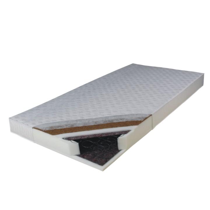 Pružinový matrac - Tempo Kondela - Kokos Medium 200x90 cm